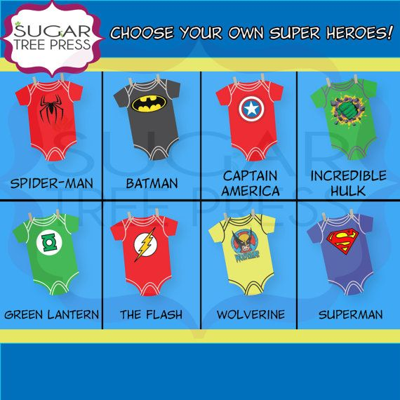 Choose Your Own Super Heroes for our Super Hero by SugarTreePress