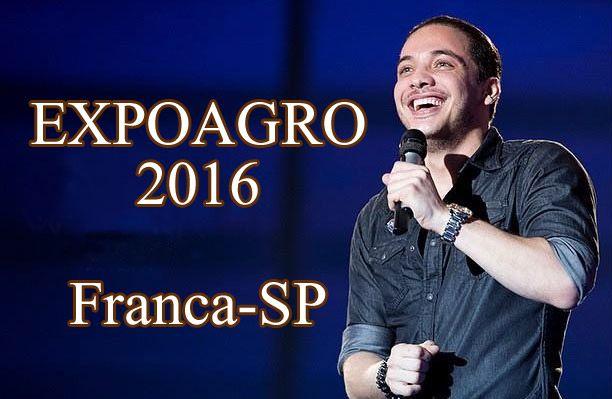 Expoagro 2016 confirma Wesley Safadão; veja programação