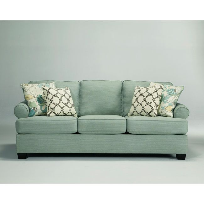 The Daystar   Seafoam Living Room Collection By Signature Design By Ashley  Furniture Features Stylishly Shaped