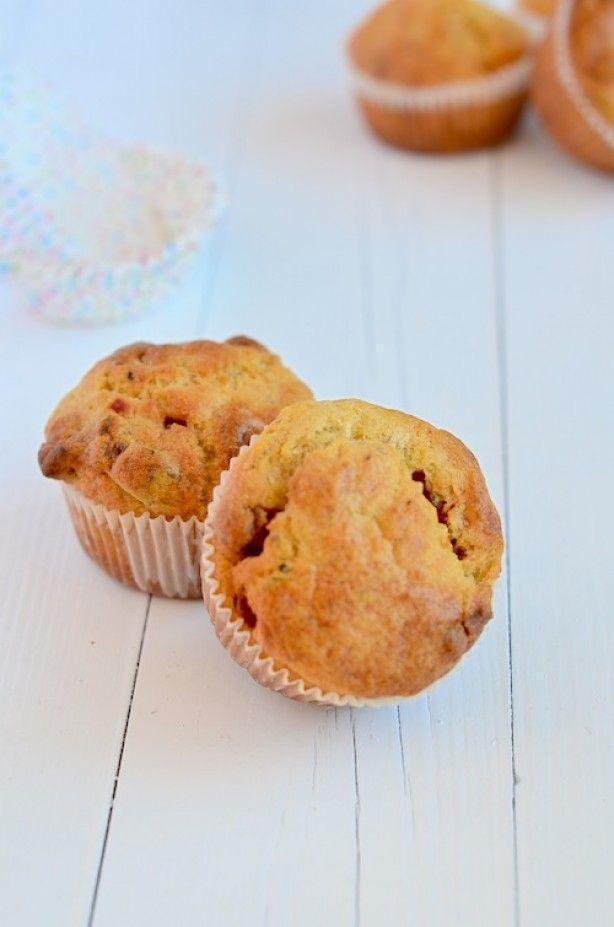 Lekker recept voor hartige pizzamuffins, Lekker hapje voor bij de borrel of bij een kom soep.