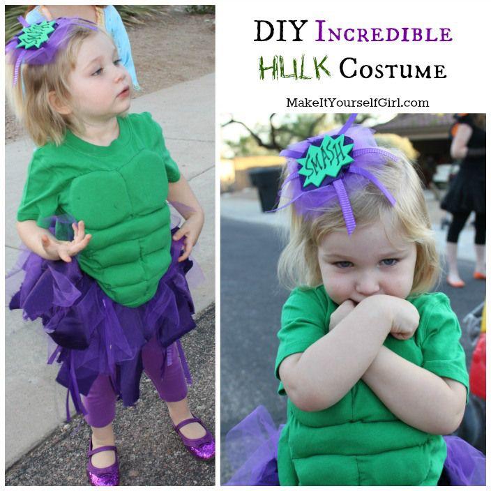 DIY Hulk Costume - Make It Yourself Girl