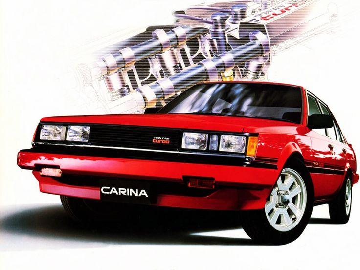 Toyota Carina GT-TR 4-door Sedan (TA63) '05.1984–05.1988