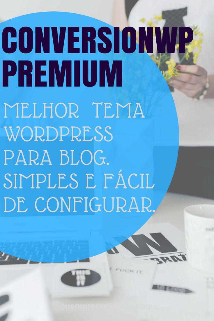 O melhor tema #wordpresstheme para quem tem #blog. #blogging e para quem trabalha com #affiliatemarketing.