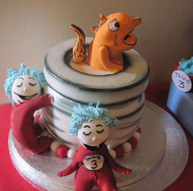 Dr. Seuss Party: Hats Parties, Seuss Parties, Seuss Cakes, Kids Cakes, Parties Ideas, Dr. Seuss, Seussvil Cakes, Birthday Cakes, Birthday Ideas