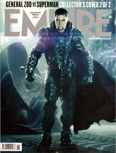 General Zod Cover on Empire Magazine June 2013 #michaelshannon #manofsteel