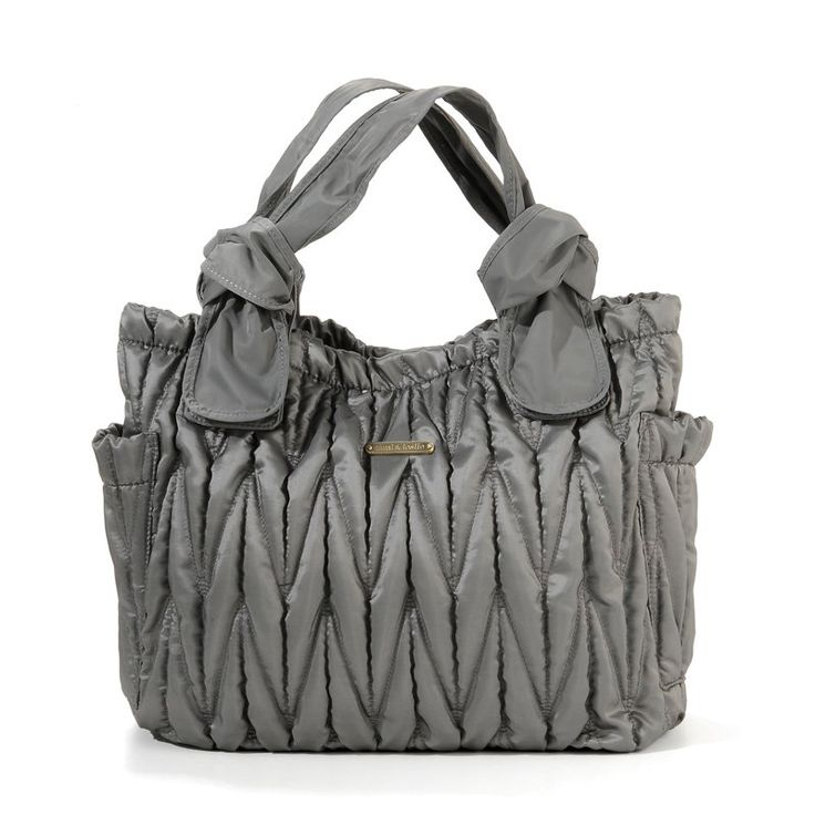 Have to have it. Timi and Leslie Marie Antoinette Diaper Bag - Silver $169.99
