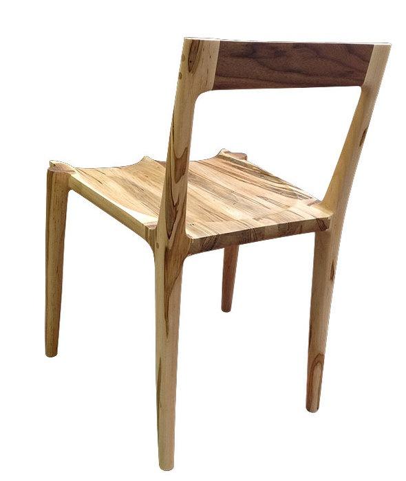 A Sam Maloof style chair.