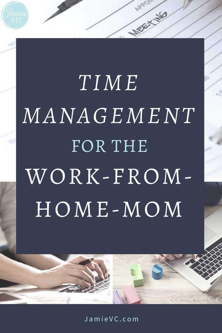 Learn how you can be productive so you can achieve your work goals while still having time to enjoy your family. Time Management for the Work-From-Home-Mom #training  #timemanagement  #workfromhome  #workfromhomemom  #entrepreneurship
