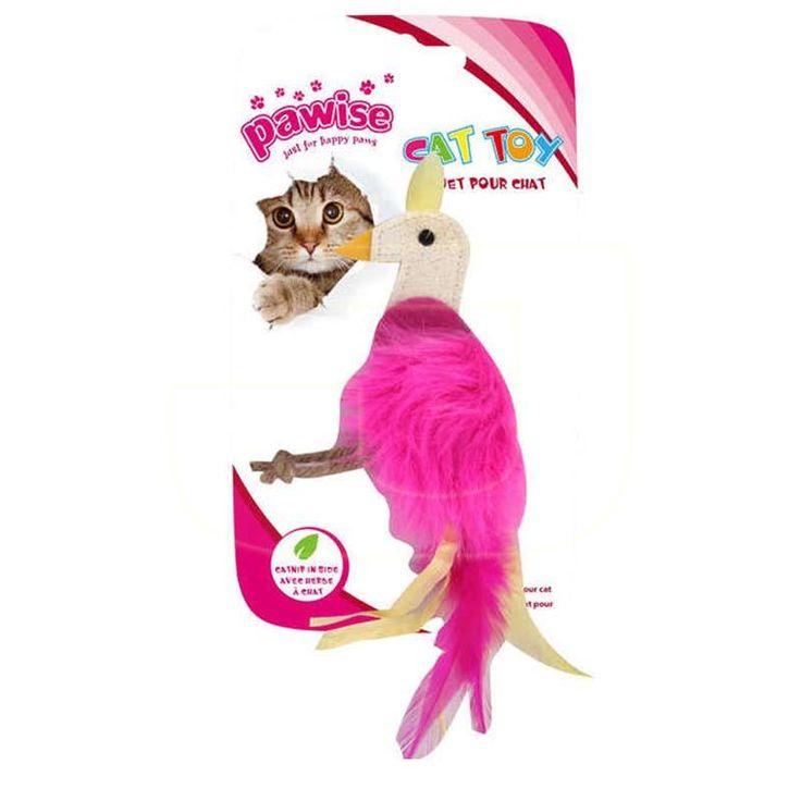 Avlanmayı seven kuşlar için kedi naneli kuş şeklinde oyuncaklar uygun fiyatlarla satışta!