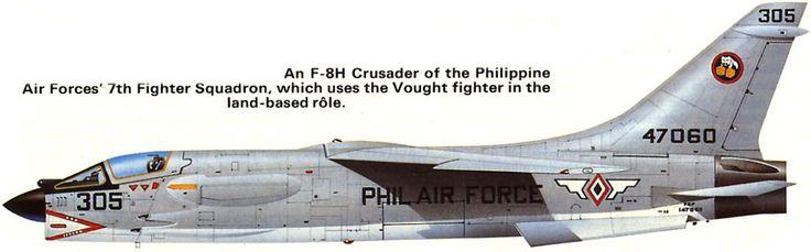 F8 Crusader Phillipine Air Force