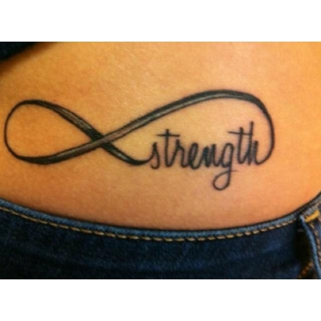 I love the infinity symbol! The font type looks like my handwriting!