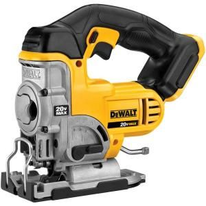 DEWALT 20-Volt Max Lithium-Ion Jig Saw (Tool Only)-DCS331B at The Home Depot