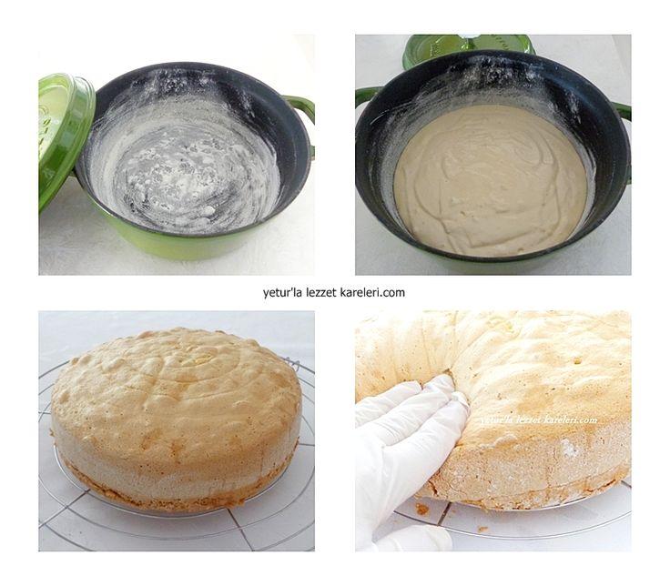 heca döküm tencerede birbirinden enfes ekmekler pişirdim.şimdide sıra pandispanyada. her zaman ki gibi çok özel tariflerden biri ...