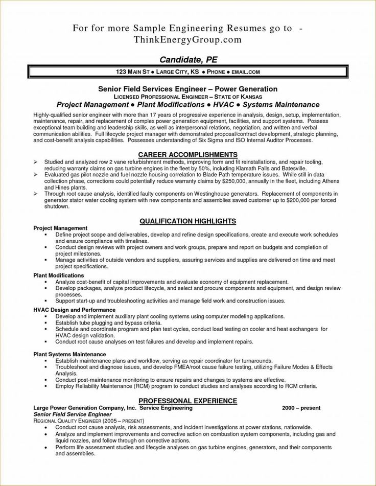 Operating Engineer Resume Examples Pleasing Supplier