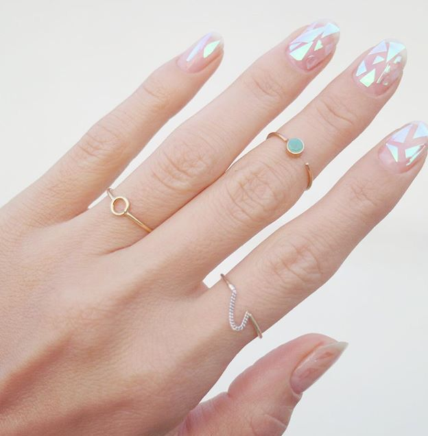 Rings by From Tiny Island Pic: @urbanwit