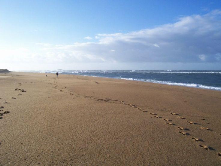 the beach at Erdeven