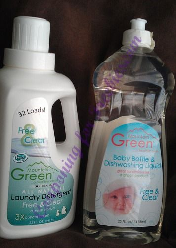 Natural Detergent Mountain Green Product Review, Why Natural Detergent - http://couponingforfreebies.com/natural-detergent-product-review/
