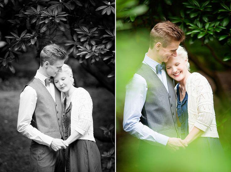 Patrik och Linn, ett junibröllop i Botaniska trädgården, Göteborg » Fotograf Linda Jönér – Bröllop, barn, reklam
