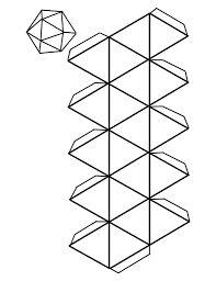 figuras geometricas para armar cubo - Buscar con Google
