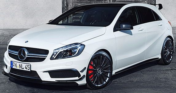 NoLimit Mercedes A45 AMG with 410HP