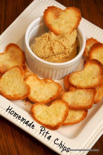 Ever made homemade Pita Chips? It's easy and better than any you could ever buy. Click through to find out how. Hummus and pita chips are a delicious snack. They are great to take to any party. If you make the chips homemade, you will be sure to impress. Just make a lot of them because they will disappear. Before I think they even made pita chips, my mom taught… {Read More}