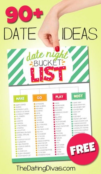 190 Date Night Ideas from The Dating Divas - BonBon Break