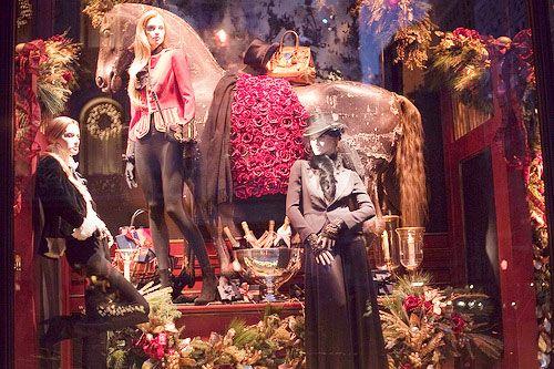 New York Christmas Window Display