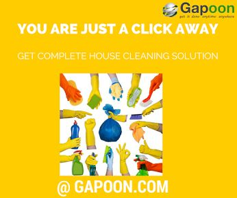 Find professional #house #cleaning servicemen at your doorstep! Expecting guests & there is simply no time in your #busy work schedule to clean that bathroom? Or After-party cleaning makes you think twice before hosting another party? Well, let the work & fun in your life continue and let us do all your cleaning. #Gapoon provides verified and trusted house-cleaner at your utmost convenience. Book through website or our new android app to get the most of our services. #Gapoon provides all…