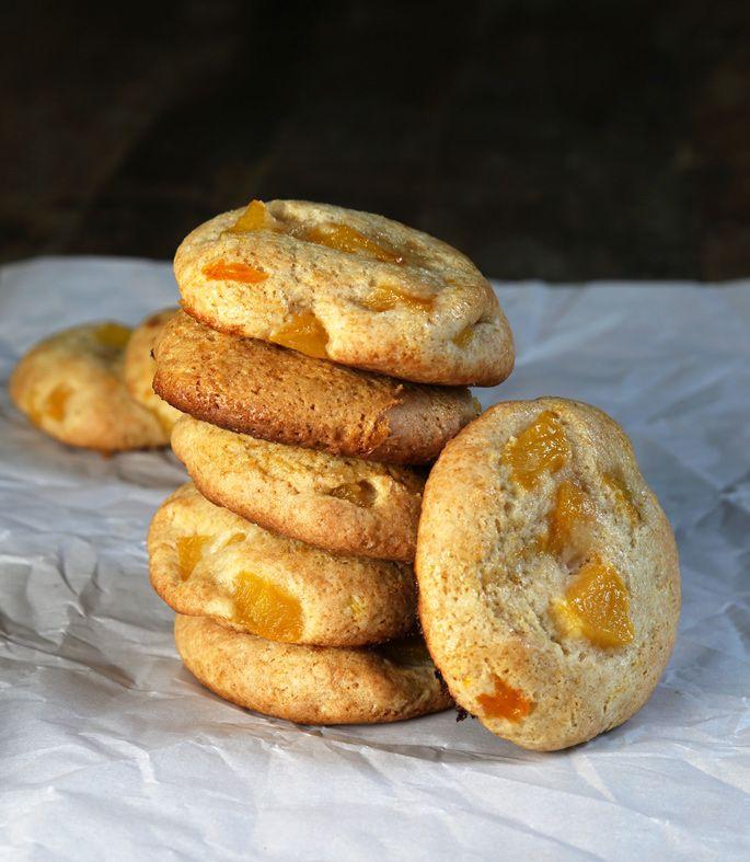 Gluten Free Peach Pie Cookies