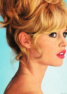 Bridget Bardot is my hair crush.