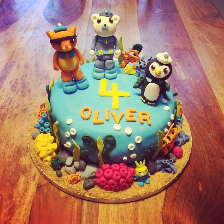 37 best Octonauts cake decorations images on Pinterest Octonauts