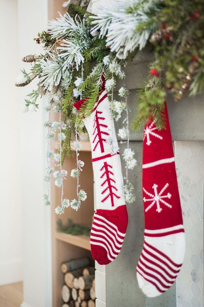 Christmas Stockings. Wool Christmas Stockings. Classic Wool Christmas Stockings. #Wool #Christmas #Stockings Gatehouse No.1.