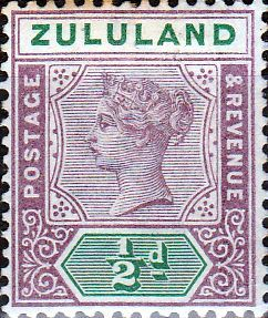 Zululand 1894 Queen Victoria Overprint SG 20 Fine Mint SG 20 Scott 15 Other British Commonwealth Empire and Colonial stamps Here