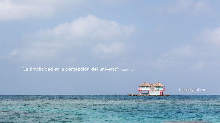 La #Simplicidad es la #Percepción del #Universo
