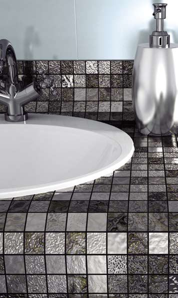 Minoli Tiles - Four Seasons Mosaic - Four Seasons by Minoli is the perfect choice for any space: thanks to the tesserae size and as it is mesh-mounted, it can be installed even onto curved surfaces, to decorate the spaces in complete elegance - Mosaic: Four Seasons Mosaic Winter 30 x 30 cm. - https://www.minoli.co.uk/tiles/four-seasons-winter/ - #luxury #mosaic #fourseasons #Minoli