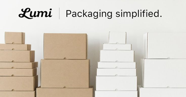 Lumi makes packaging for e-commerce brands. Get everything from custom boxes to envelope mailers, rubber stamps and tape in a single place.