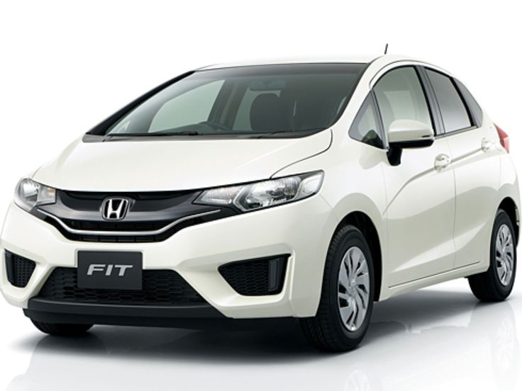 2015 Honda FIT Front View Wallpaper WHite Backgrounds - http://wallucky.com/2015-honda-fit-front-view-wallpaper-white-backgrounds/