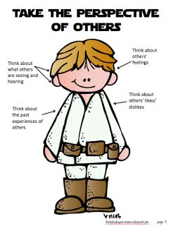 """Free Poster - """"Take the perspective of others"""" - repinned by @PediaStaff – Please Visit ht.ly/63sNt for all our pediatric therapy pins"""