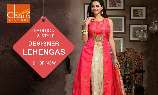 This #Diwali #Shop to your heart's content! #designer #lehengas #lehengacholi #ethnicwear #traditional #outfit #womenswear #ethnic #style #festivecollection #designerwear @CharuBoutique #Nagpur #store