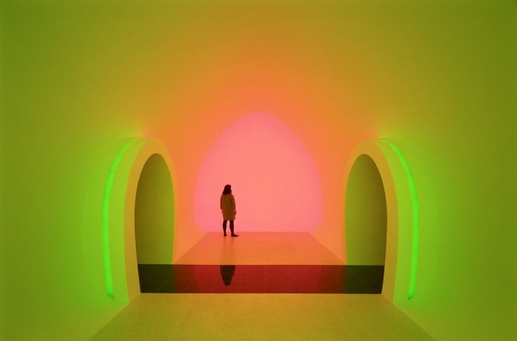 Neon Spaces By James Turrell