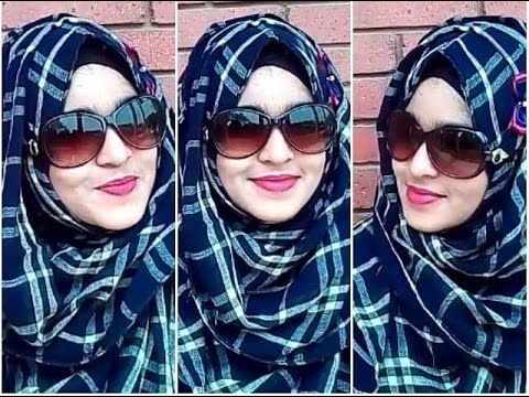 Summer Inspired Hijab Style With SUNGLASS - YouTube