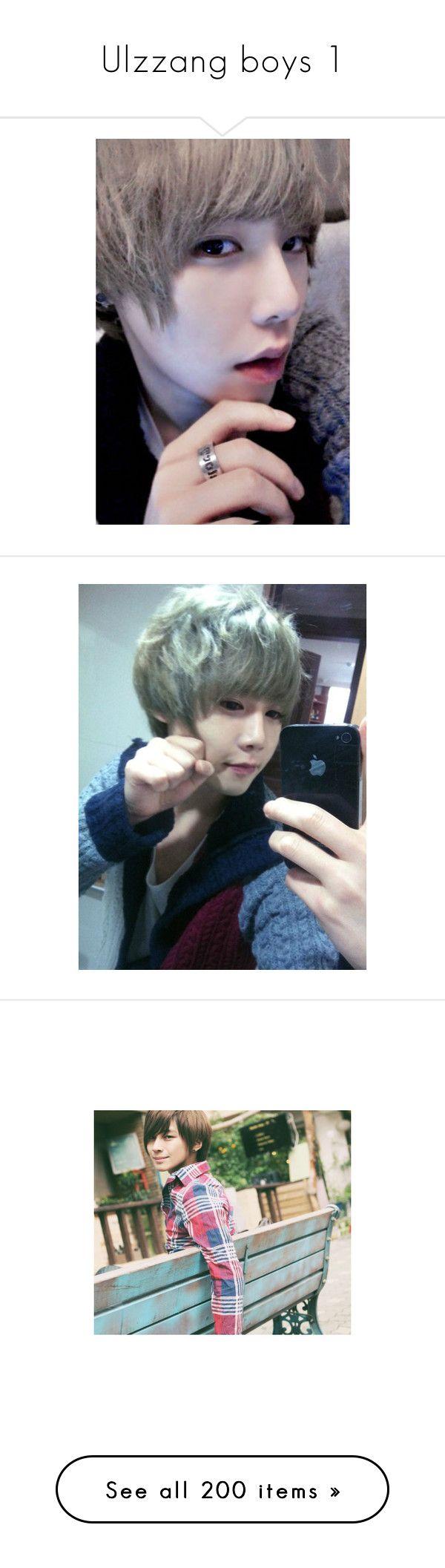 """Ulzzang boys 1"" by minibaozi ❤ liked on Polyvore featuring ulzzang, park jae hyun, home, home decor, won jong jin, park hyung seok and kiseop"