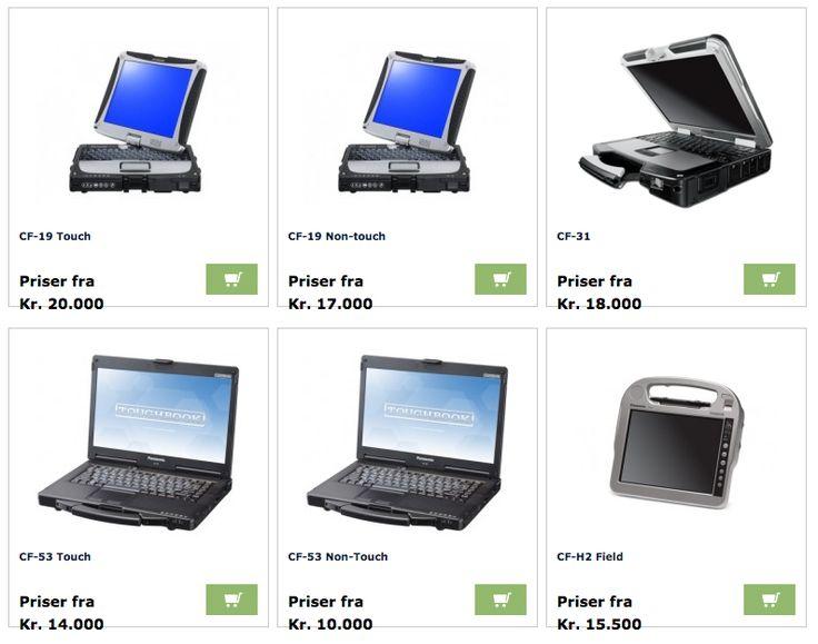 Panasonic Toughbooks fra Micro Nordic. #Panasonic