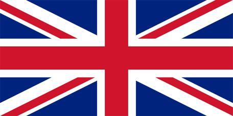 Storbritanniens flagga, flaggor