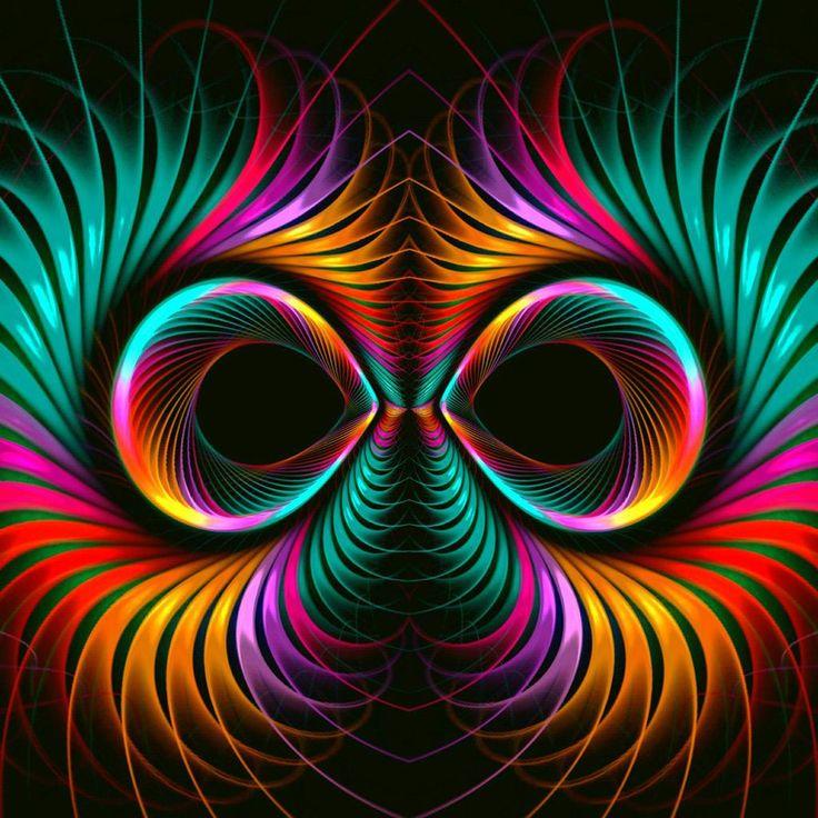 Googly szeme gravitációs mozdulatokkal