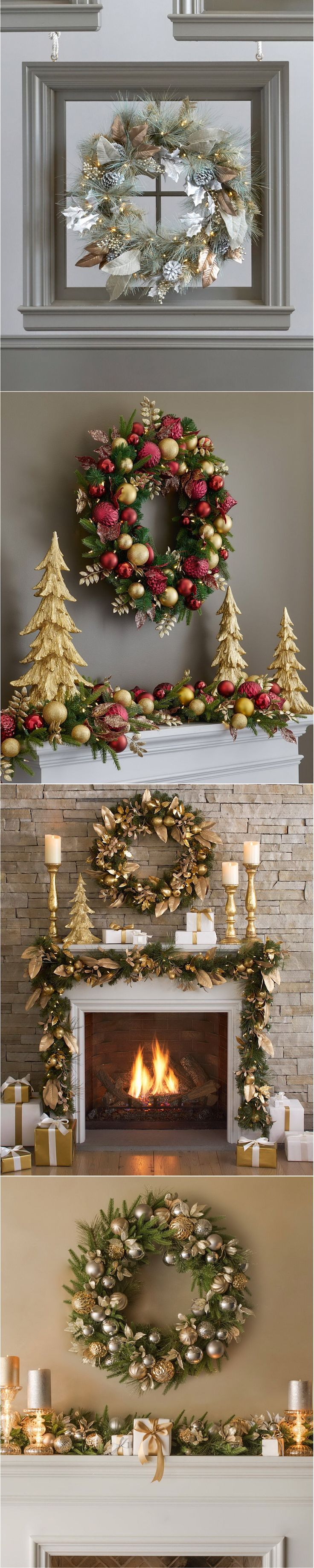 #christmas #ChristmasDecor #ChristmasWreath #balsamhill