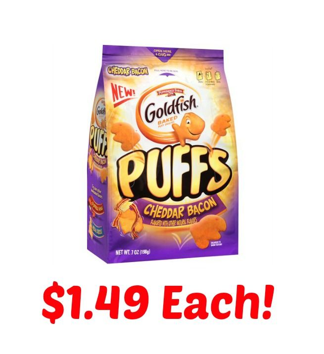 Goldfish Puffs Only $1.49 At Target!