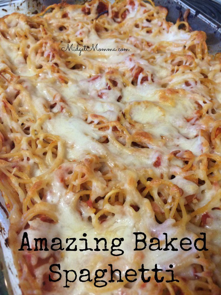 This super easy dinner recipe is sure to be a huge hit in your house like it is in mine. If you are a fan of spaghetti this easy Baked Spaghetti will turn into your number one spaghetti meal :) Using the easy to make homemade sauce recipe this Baked Spaghetti will have everyone clearing their plates at dinner time.