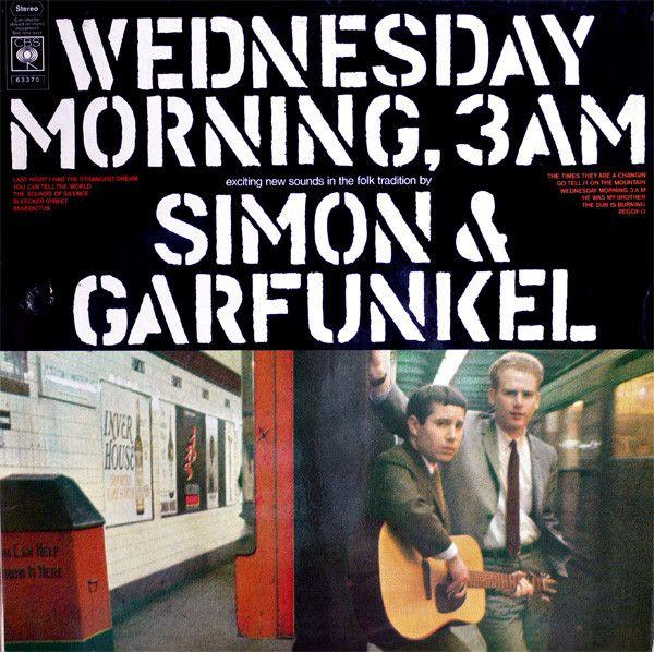 Simon & Garfunkel - Wednesday Morning, 3 A.M. (Vinyl, LP, Album) at Discogs
