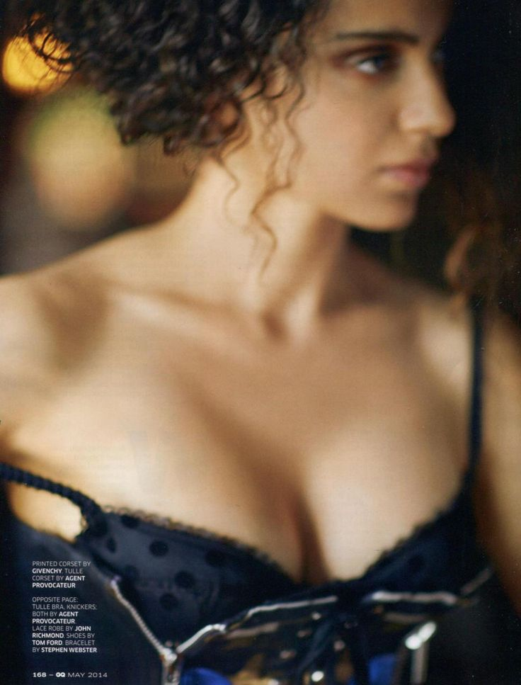 #Fashion #Editorial Our Rosalyn bra on Kangana Ranault for GQ India